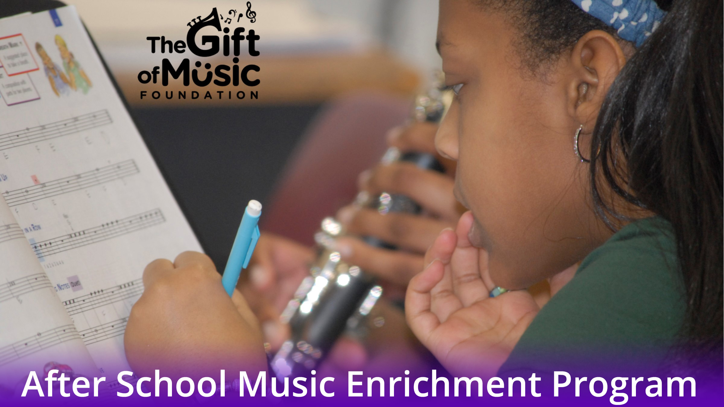 Gift of Music Foundation After School Music Program