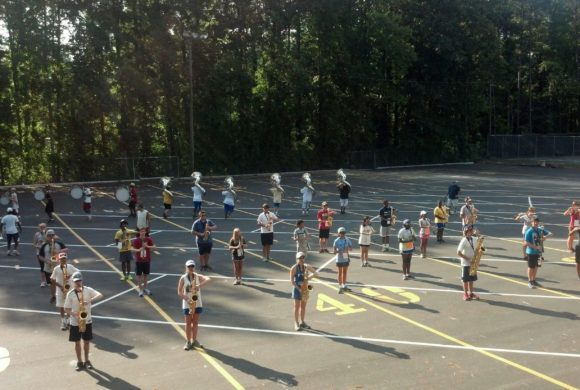 Marching Band Camp Month!